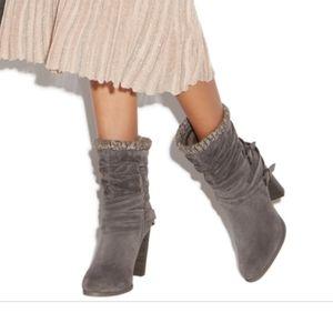 Shoedazzle Kinnie Sweater Bootie